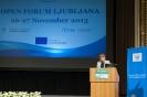 Open Forum Ljubljana - Day 1/1, High-level Plenary Session